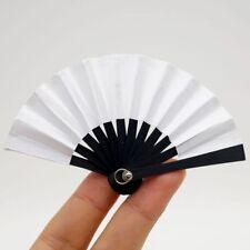 """6CM White Folding Fan Paper For 1/6 11"""" BJD YOSD AOD Luts DD DOD DOLLFIE"""