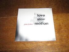 JANE BIRKIN CD SINGLE PROMO LOVE SLOW MOTION