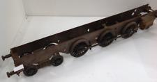 More details for vintage large decorative metal steam train model
