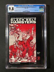 Adolescent Radioactive Black Belt Hamsters #1 CGC 9.8 (1986)