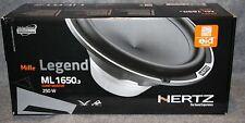 Hertz Mille Legend Ml 1650.3 Woofer set Ml1650 New in Box