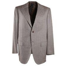 NWT $9995 KITON Herringbone Cashmere and Vicuna Sport Coat 44 R (Eu 54)