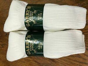 6 pr mid calf men size 10-15 crew heavy Garrys famous socks socks orlon made USA