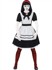 Living dead dolls Alice Halloween Déguisement Robe XS UK 6-8 Bargain