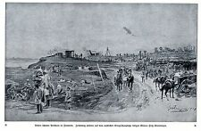 Deutsche schwere Artillerie in Flandern 1914 * WW 1