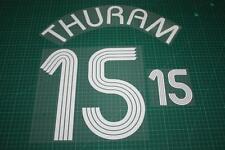 Flocage THURAM pour maillot équipe de France bleu patch shirt /.