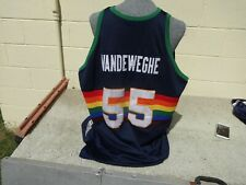 Kiki Vandeweghe 1983 Denver Nuggets Throwbacks Mitchell & Ness NBA Jersey  60