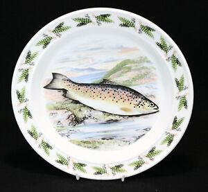 "Portmeirion - The Compleat Angler 1981 - Giillaroo - Dinner Plate 10.5"""