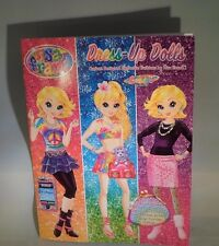 Lisa Frank Paper Doll Book with Cassie Outfits and Stickers + Bonus Doll  TC8