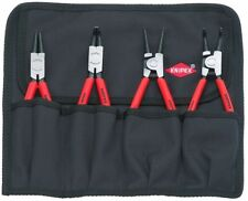 NICE!! Knipex 4pc Int / Ext Snap ring/ Retaining Ring pliers set #001956