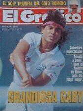 GABRIELA SABATINI champion Roma Open 1991 Tennis RARE Magazine
