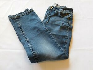 Justice Jeans Girl's Youth Pants Denim jeans Size 10R 10 Regular Blue GUC