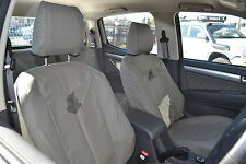 BLACK DUCK SEAT COVERS suits Toyota 70 Series - Driver Bucket & 3/4 Passenger