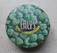 Ancienne boite métal Calys Pastilles au menthol Paris bonbons pharmacie