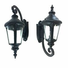 Traditional Black Coach Light Upward or Downward Large Size Antique Wall Light