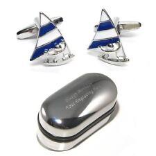 Windsurfer, Windsurfing Board Cufflinks & Engraved Gift Box