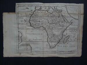 1754 Nicolas DE FER  Atlas map  AFRICA - L'AFRIQUE - Madagascar