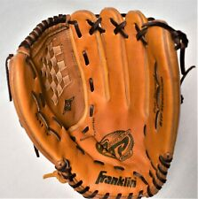 "Franklin Softball RTP Series 4541 - 14"" Baseball Glove Steerhide RHT Excellent!"
