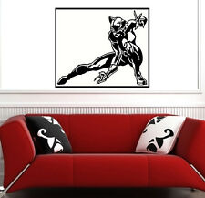 VINILO DECORATIVO PARED SALÓN DECORACIÓN CAT WOMAN SUPER HEROES DECAL VINILOS