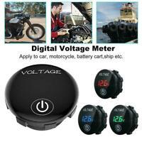 DC Auto Motorrad Boots Digital LED Panel Spannungsanzeige Voltmeter O4H1