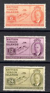 Virgin Islands part set KGVI MMINT 1951  [V0321]