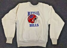Vintage L Large Buffalo Bills Stitched Embroidered Trench Ultra Football Sweater
