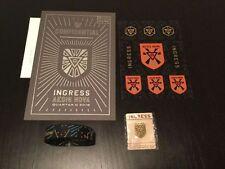 Ingress Aegis Nova Envelope/Sticker/Wristband/Pin