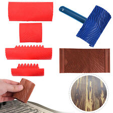 Rubber Wood Grain Graining Pattern Wall Paint DIY Painting Tool Set Home Decor