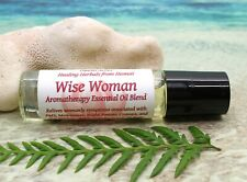 Roll On Aromatherapy Essential Oil, Wise Woman, PMS, Menstrual Cramps, Menopause