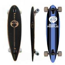 Easy People Longboards PT-0 Pintail Drop Through Longboard Complete Deck  Malibu