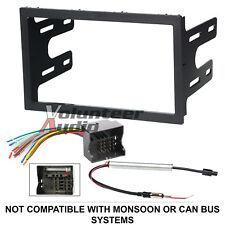 Vw Car Stereo Radio Kit Dash Installation Mounting Trim Bezel Wiring Harness