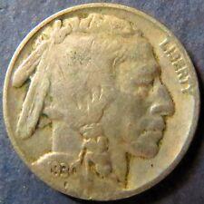 Vintage 1930 INDIAN HEAD/BUFFALO NICKEL, Fine Details, Philadelphia Mint Coin #5