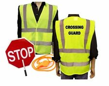 Crossing Guard Kit / ANSI Class 2 Safety Vest/ Stop Paddle and Whistle
