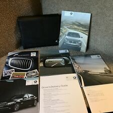 2010 BMW 750i 750Li 760Li Owners Manual set with warranty guides and case