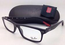 New RAY-BAN Eyeglasses RB 5277 2077 54-17 140 Sandblasted Black Frames