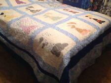 Handmade Southern Belles Quilt, Queen
