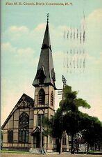 North Tonawanda,New York,First M.E.Church,Used,Tonawanda,1911