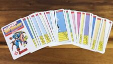 1988 MARVEL COMICS Top Trumps SUPERHEROES & VILLAINS set 33 CARDS German TRUMPF