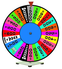 "24"" Spinning Prize Wheel Fits with Wheel of Fortune Theme"