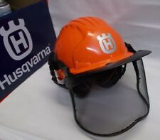 Husqvarna 592752601 NEW Pro Helmet System Hard Hat Visor Ear Protection