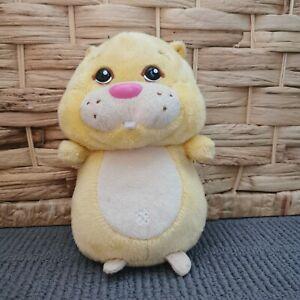 2010 Cepia Zhu Zhu Yellow Hamster Plush Toy Stuffed Animal