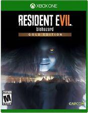 Resident Evil 7 Biohazard Gold (Microsoft Xbox One, 2017)