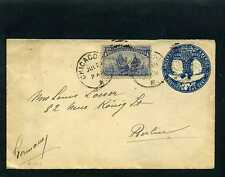 COLUMBUS AND LIBERTY >CHICAGO U.S. TO BERLIN, GERMANY4/8. 93>  stamped envelopes