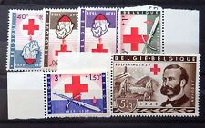 BELGIUM 1959 Red Cross SG1683/8 U/M FP8935