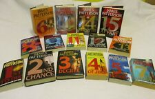 """Lot of 15 books – """"The Women's Murder Club"""" series by James Patterson"""
