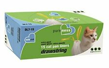 New listing Van Ness Dl715 Pureness Extra Giant Drawstring Cat Pan Liner, 15-Count