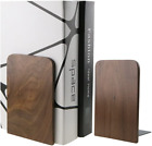 Nature Walnut Wood Bookends Book Ends Book Organizers Bookshelf For Library