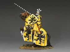 MK124 The Yellow Tournament Knight by King & Country RETIRED