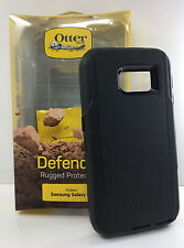Otterbox Defender Rugged Hard Case w/holster  Clip for Samsung Galaxy S6 Black
