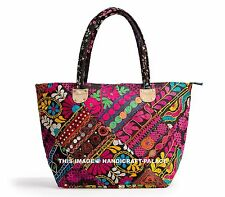 Celebrity Banjara Vintage Boho Bohemian Tribal Hippie Kantha Beach Bag Indian
